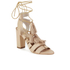 Loeffler Randall Women's Luz Tassel Block Heeled Sandals - Wheat: Image 5