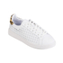 Loeffler Randall Women's Zora Perforated Trainers - White/Cheetah: Image 4