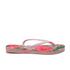Havaianas Women's Slim Floral Flip Flops - Crystal Rose: Image 2