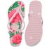 Havaianas Women's Slim Floral Flip Flops - Crystal Rose: Image 5