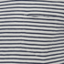 J.Lindeberg Men's Crew Neck Stripe T-Shirt - Off White: Image 3