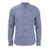 J.Lindeberg Men's Denim Long Sleeve Shirt - Light Indigo: Image 1