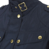 Barbour International Women's Broton Belted Casual Jacket - Navy: Image 5