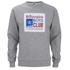 Billionaire Boys Club Men's Processed Reversible Crew Neck Sweatshirt - Heather Grey: Image 1