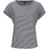 ONLY Women's Love Stripe Loose Top - Cloud Dancer: Image 1
