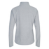 The North Face Women's Glacier Quarter Zip Fleece - TNF Light Grey Heather: Image 3