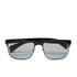 Prada Men's Conceptual Metal Sunglasses - Black: Image 1
