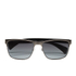 Prada Men's Conceptual Metal Sunglasses - Antique Brushed Gunmetal: Image 1