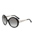 MICHAEL MICHAEL KORS Women's Willa Large Round Sunglasses - Black: Image 2