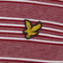 Lyle & Scott Vintage Men's Crew Neck Oxford Stripe T-Shirt - Ruby: Image 3