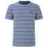 Lyle & Scott Vintage Men's Crew Neck Oxford Stripe T-Shirt - Present Blue: Image 1
