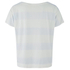 Levi's Women's Boyfriend Tee With Side Slits - Stripe Washed Blue/White: Image 2