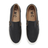 YMC Men's Slip-on Trainers - Black: Image 2