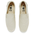 YMC Men's Slip-on Trainers - Cream: Image 2
