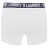 Tokyo Laundry Men's Tasmania 2 Pack Boxers - Optic White/Tokyo Red: Image 5