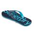 Superdry Men's Flip Flops With Clear Sole - Fluro Blue/Dusk Navy: Image 4