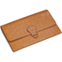 Aspinal of London Travel Wallet - Tan Croc: Image 3