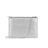 Aspinal of London Women's Soho Pouch - Silver/Black: Image 1