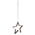 Bark & Blossom Hanging Star Candle Holder: Image 2