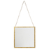 Bark & Blossom Hanging Gold Mirror: Image 1