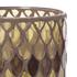 Bark & Blossom Bronze Mosaic Hurricane Glass: Image 2
