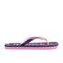 Superdry Women's Scuba Flip Flops - French Navy/Fluro Pink: Image 3