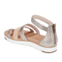 UGG Women's Zina Gladiator Sandals - Gray Gold: Image 4