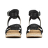 UGG Women's Maysie Wedged Sandals - Black: Image 4