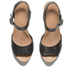UGG Women's Janie Leather Heeled Sandals - Black: Image 2