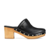 UGG Women's Kay Leather Clogs - Black: Image 1