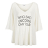 Wildfox Women's Unicorn Surfer Tahiti Tunic - White: Image 1