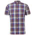 Penfield Men's Nolan Checked Short Sleeve Shirt - Blue: Image 1