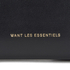 WANT LES ESSENTIELS Women's Liberty Travel Zip Wallet/Passport Cover - Black: Image 3