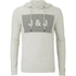 Jack & Jones Men's Core Take Hoody - Treated White: Image 1