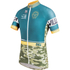Santini Tour Down Under Old Willunga Hill Short Sleeve Jersey 2016 - Green: Image 1