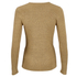 C/MEO COLLECTIVE Women's Shine On Long Sleeve Top - Gold: Image 3