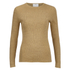 C/MEO COLLECTIVE Women's Shine On Long Sleeve Top - Gold: Image 1