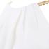 MICHAEL MICHAEL KORS Women's Chain Neck Dress - White: Image 5