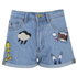 Paul & Joe Sister Women's Looney Shorts - Denim: Image 1