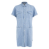 Carhartt Women's Corry Short Sleeved Denim Shirt Dress - Blue Super Bleach: Image 1