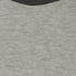 Brave Soul Men's Osbourne Raglan Long Sleeve Top - Light Grey Marl: Image 3