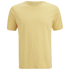 Folk Men's Plain Crew Neck T-Shirt - Washed Out Amber: Image 1