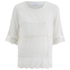 Samsoe & Samsoe Women's Dard Top - Clear Cream: Image 1