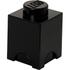 LEGO Aufbewahrungsbox 1 Noppe - Schwarz: Image 1