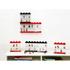 LEGO Mini Figure Display (16 Minifigures) - Black: Image 3
