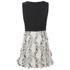 Karl Lagerfeld Women's Fringed Karl Jacquard Dress - White: Image 2