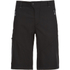 Jack Wolfskin Men's Active Track Shorts - Black: Image 1