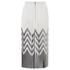 Designers Remix Women's Tilt Graphic Pleated Skirt - Black/White: Image 4