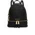 MICHAEL MICHAEL KORS Women's Rhea Zip Backpack - Black: Image 1