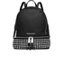 MICHAEL MICHAEL KORS Women's Rhea Studded Zip Backpack - Black: Image 1